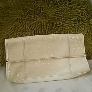 Handbags - Retro beige  Crocodile purse
